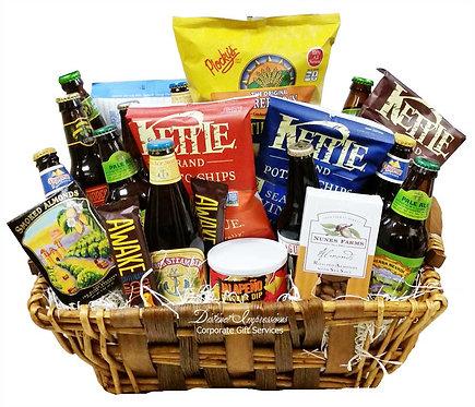 Craft Beer Deluxe Gift Basket