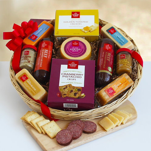 Savory Meat and Cheese Favorites Gift for All Occasions