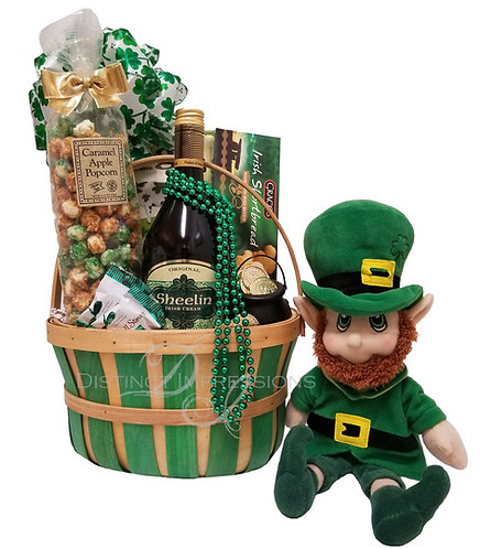 The Happy Irishman Gift Basket for St. Patrick's Day