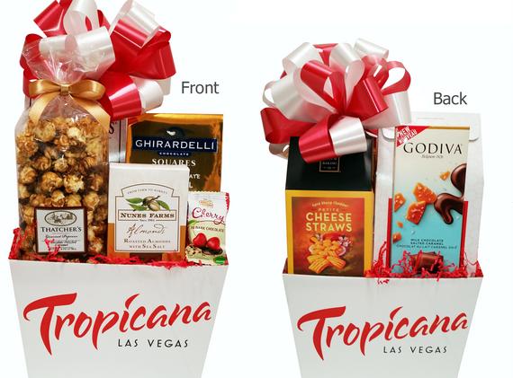 Custom Tropicana Event Gift Box