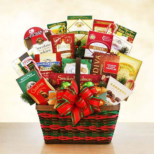 Christmas Holiday Office Party Gift Basket