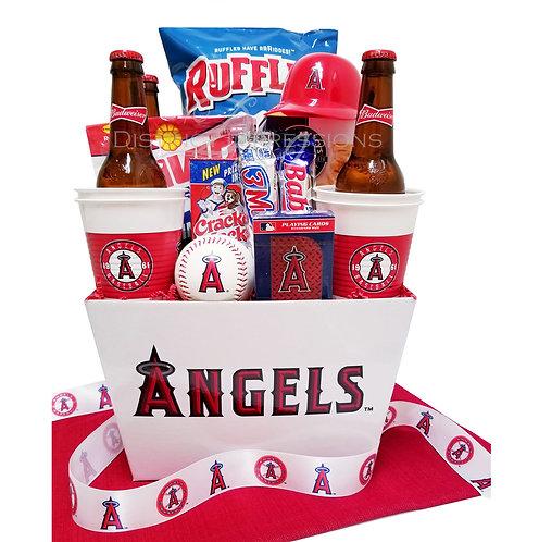 MLB Los Angeles Angels - Beer Gift Basket
