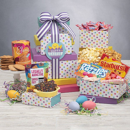 Hoppy Easter Gift Box Tower
