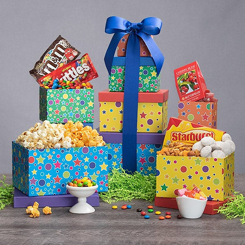 Birthday Celebrations Gift Tower