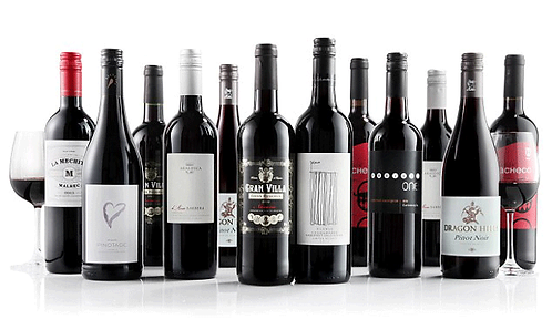 750ml Red Wine Selections