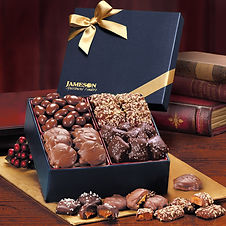 Corporate Branded Food Gift Boxes with Business Name and Logo for Corporate Gifting