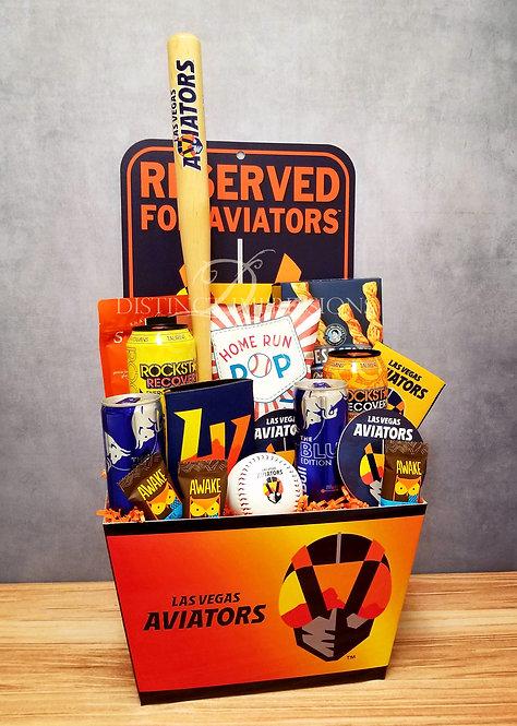 Reserved for Aviators MiLB Baseball Gift Basket