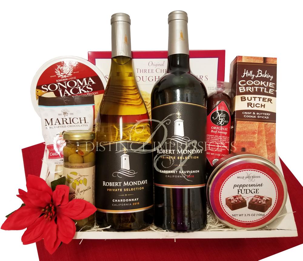 Robert Mondavi Holiday Gift Basket
