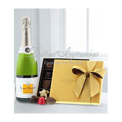 Veuve Clicquot Demi-Sec & Godiva® Chocolates