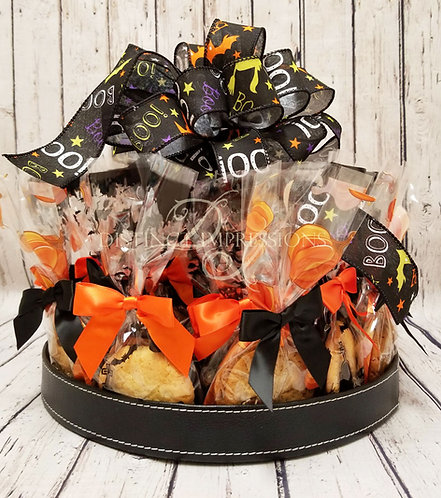 Halloween Cookie Platter Office Gift - Large
