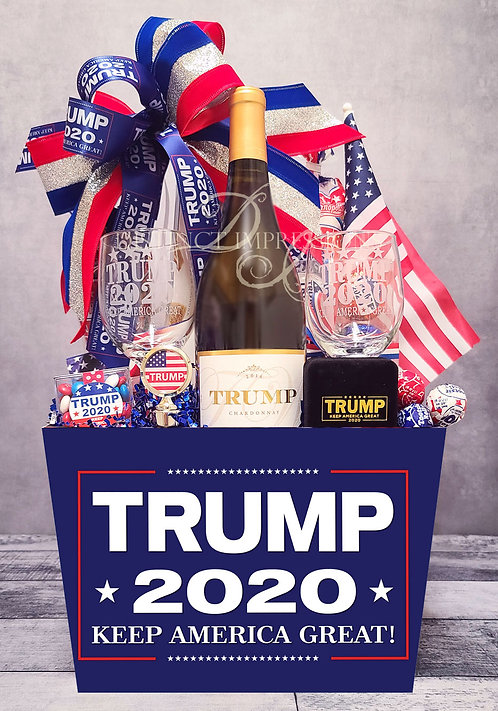 Trump 2020 - Trump Vineyards Chardonnay Wine Gift