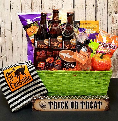 Halloween Punkin Ale Beer Gift Basket