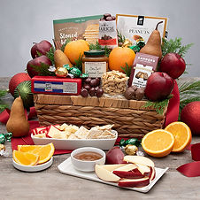 Christmas Fresh Fruit and Gourmet Offerings