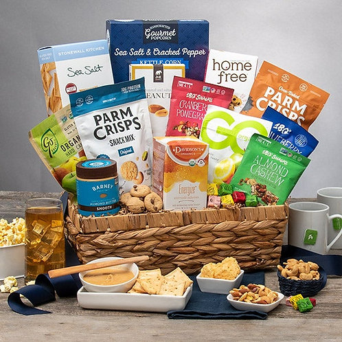 Totally Fit and Healthy Gift Basket
