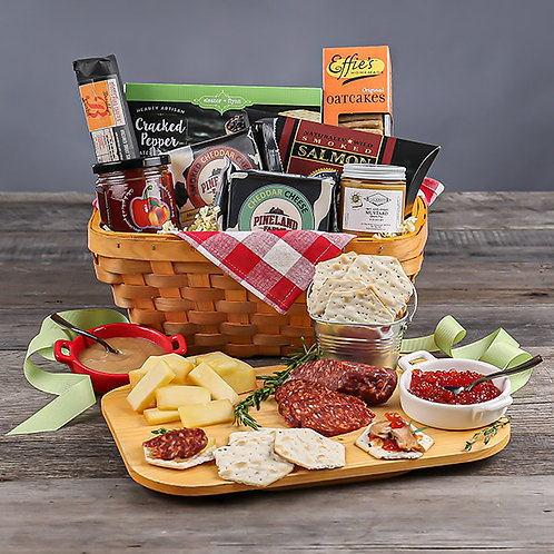 Charcuterie Lovers Picnic Gift Basket