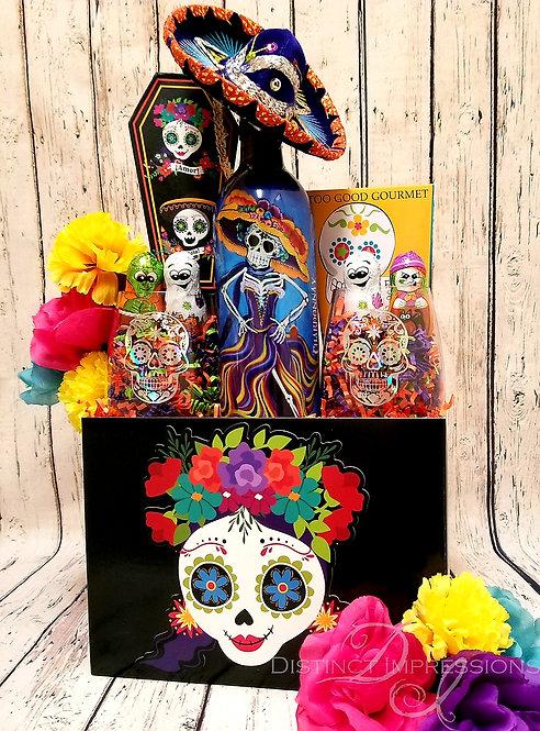 Dia de los Muertos (Day of the Dead) Halloween Gift Box