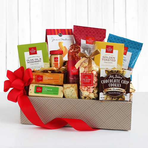 Hickory Farms Savory Meat and Cheese Gift Box