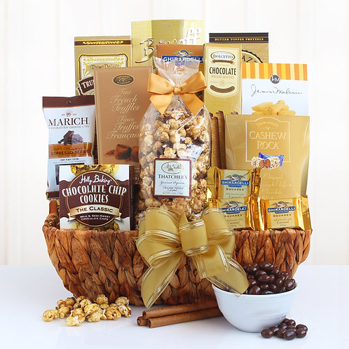 Decedent and Delightful Dessert Gift Basket