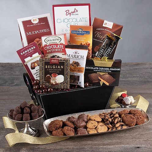 Classic Gourmet Chocolates and Cookies Gift