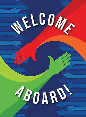 Welcome Aboard - New Hire Onboarding Gift