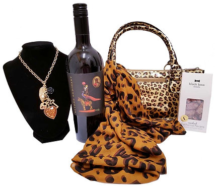 Wild Thing Wine Clutch Gift - Something Special for Her