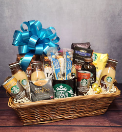 Custom Starbucks Coffee Basket