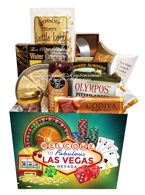 Welcome to Las Vegas - Gourmet Gift Basket