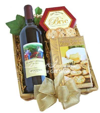 Classic California Wine Gift Tray