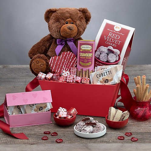 Be My Valentine Teddy Bear Gift
