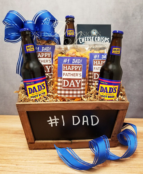 Father's Day #1 Dad Gift Basket
