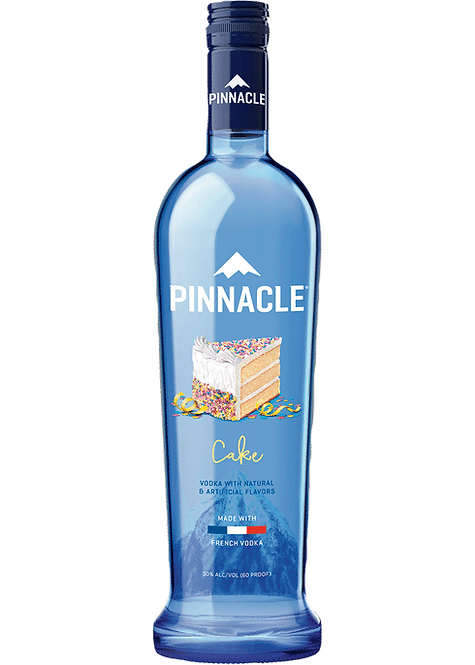 Pinnacle Flavored Vodka - Cake