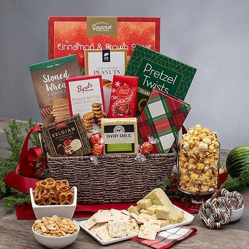Christmas Gift Basket Holiday Classic