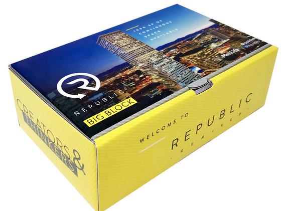 Custom Amenity Mailer Gift Box