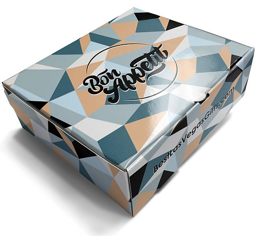 Bon Appetit Gift Box with Food and Snacks