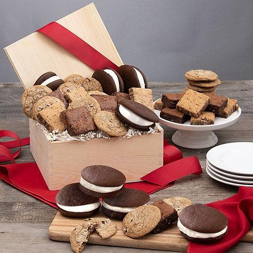 Premium Baked Goods Gift Basket for Virtual Meetings