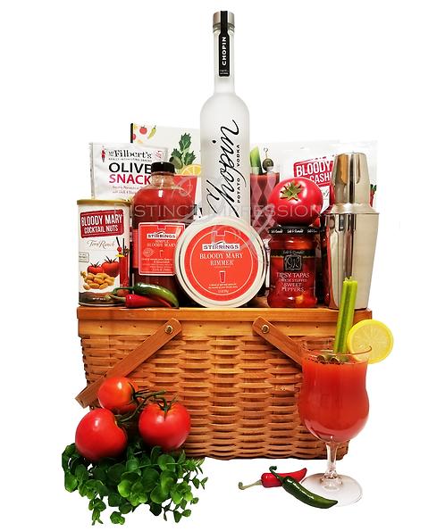 Chopins Potato Vodka Bloody Mary Gift Basket