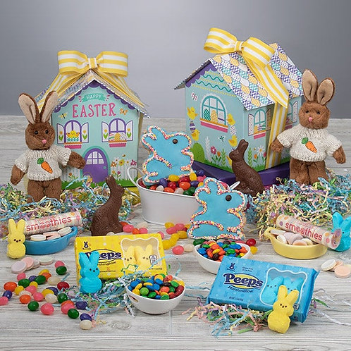 Double The Fun Bunny Easter Baskets