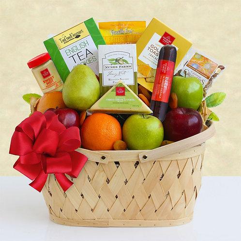Christmas Fruit and Snacks Gift