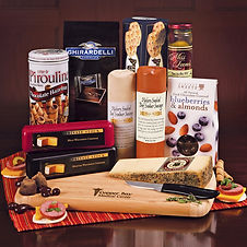 Cheese and Sausage Gifts with Business Name and Logo for Corporate Gifting During the Holidays