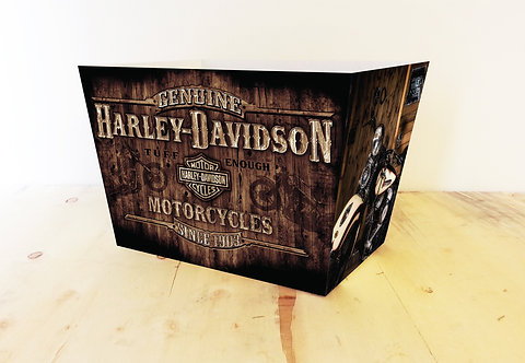 Themed Gift Box - Rustic Harley Davidson