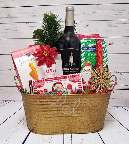 Robert Mondavi Cabernet Wine Holiday Gift Basket