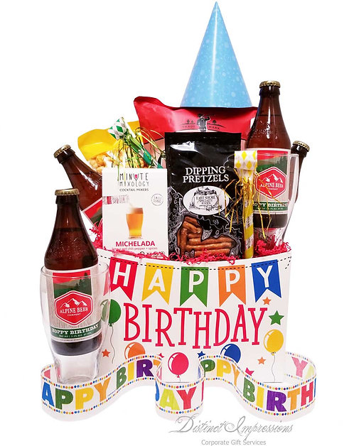 A Very Hoppy Birthday Beer Gift