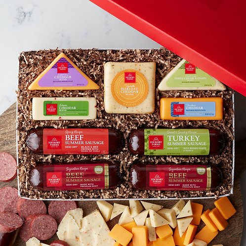 Hickory Farms Sausage and Cheese Lovers Gift Box