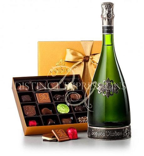 Segura Viudas Champagne & Godiva® Chocolates