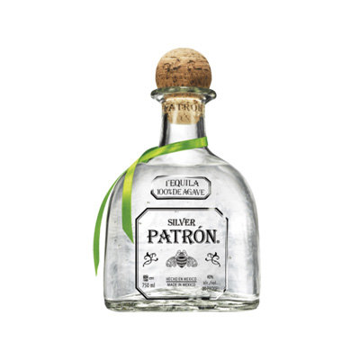 Patron Silver Tequila - Full Size Bottle