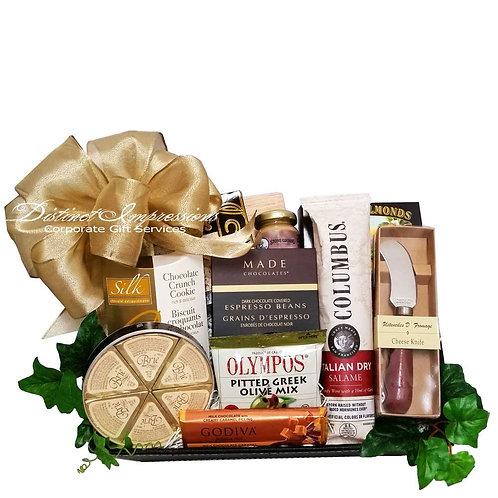 Decedent Hotel Amenity Gourmet Gift Tray
