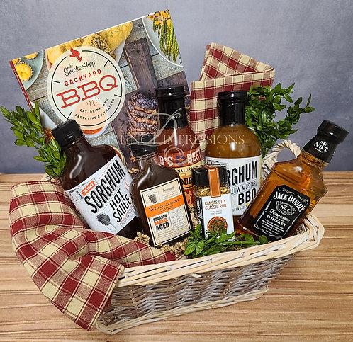 Gourmet Summer BBQ Gift Basket