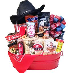 Custom Western BBQ Gift Basket