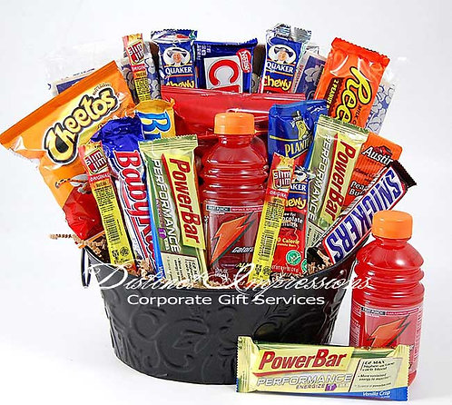 Las Vegas High Energy Snacks Gift Basket to Keep You Going Strong