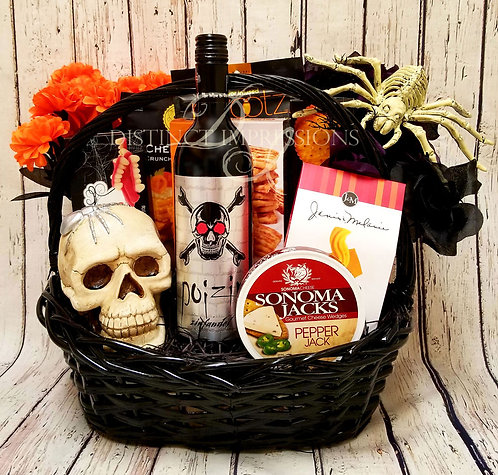 Halloween Poizin - Blood Red Wine Gift Basket